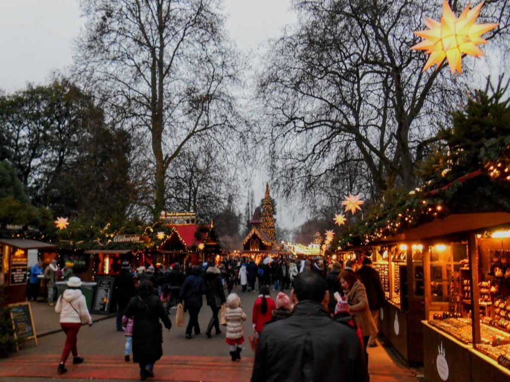 Londra Winter Wonderland sera